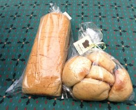 Coconut Bread in Ghana