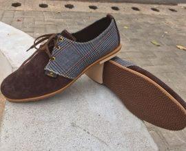 Giddins Suede-Patterned Shoe