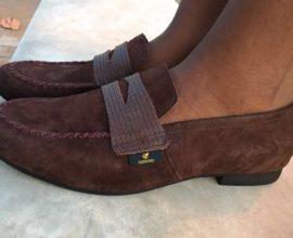 Giddins Brown Suede Shoe