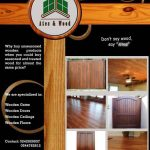 Kiln Dried Wooden Doors and Wooden Floors