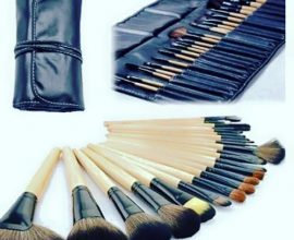 32 piece makeup brush set