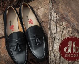 Men's black Loafers in Ghana