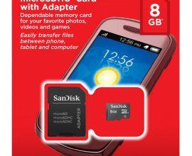 8GB SanDisk Memory Card Ghana