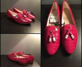 Zara Pink Flat Shoes
