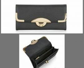 New Look Black Clutch Bag