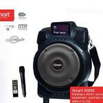 Ismart (8000w) Chargeable Speakers with Wireless Mic