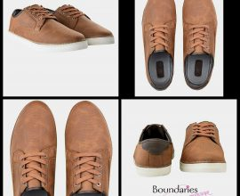 Tan Casual Trainers