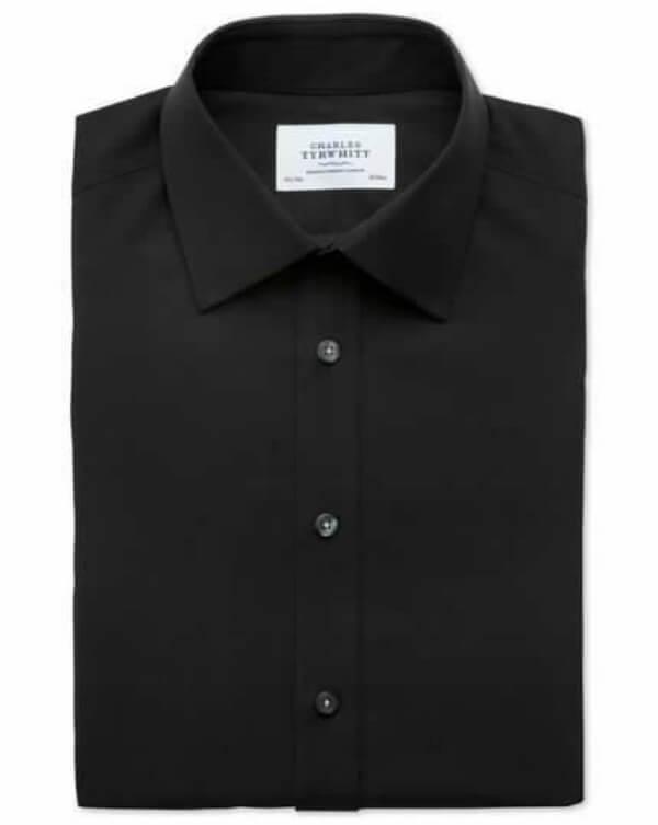 Black charles tyrwhitt shirt men 39 s wear men 39 s fashion for Mens dress shirts charles tyrwhitt