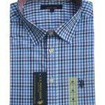 USPA Long Sleeves Shirt (Blue,Black and White Stripes)
