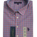 USPA Long Sleeves Shirt (Multicoloured Stripes)
