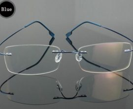 rimless glasses frames