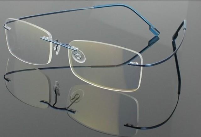 Rimless Eyeglasses Executive Optical : Rimless Optical Frames Blue Reapp.com.gh