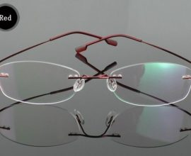 frameless glasses