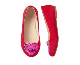 Red heart Shoes in Ghana