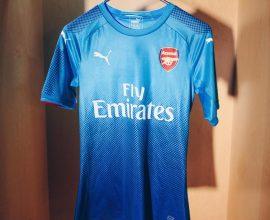 Arsenal away jersey in Ghana