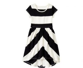 Black and White Kids Dress