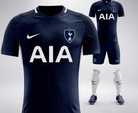 Tottenham away jersey in Ghana