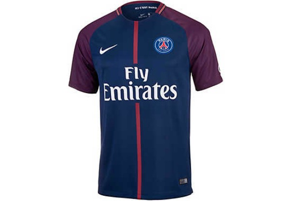 Paris Saint Germain Home Jersey 2017 18 Jerseys