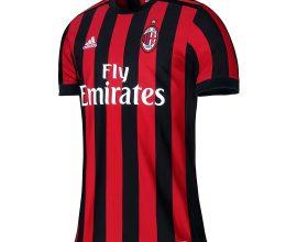 AC Milan home jersey in Ghana