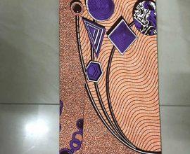AZ Pulse Wax Print
