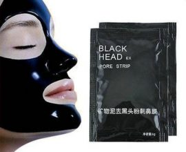 peel off black mask in Ghana