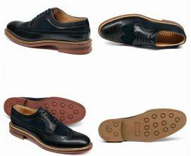 Navy Blue shoes for men