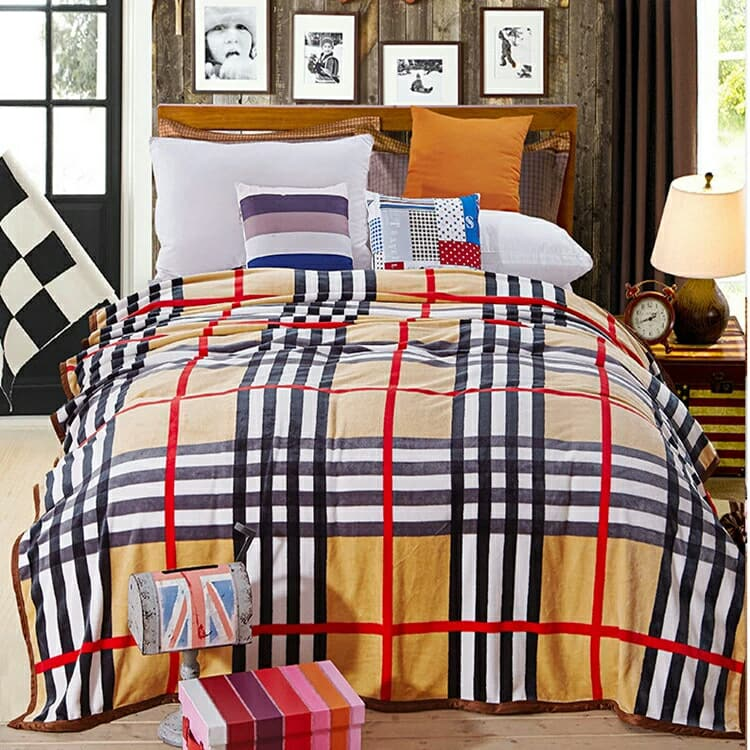 Burberry Bed Cover Bedding