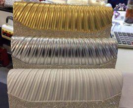 gold clutch bag in Ghana
