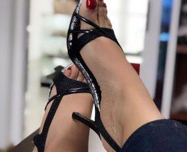 heeled sandals