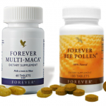 Forever Maca Tablets and Forever Bee Pollen