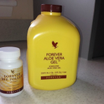 Forever Aloe Vera Gel and Pollen