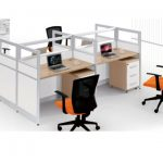 Four Work Station Office Desk ( PG-320-4D)