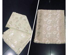 cream fabric