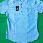 Light Blue Short Sleeve Shirts