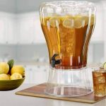 Single Juice Dispenser with Ice Chamber