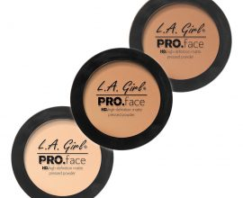 la girl pro face powder