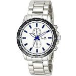 LA Time Men's Stainless Steel Watch LA.121G