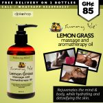 Sunny Isle Jamaican Black Castor Oil & Lemongrass Massage and Aromatherapy  Oil – Balancing Blend