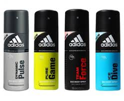 adidas body spray