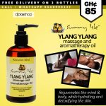 Sunny Isle Jamaican Black Castor Oil & Ylang Ylang Massage and Aromatherapy Oil -Relaxation Blend