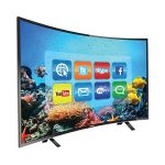 Nasco 55 inch Curved TV 4K Satellite Digital
