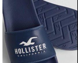 hollister slippers
