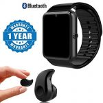 Smart watch plus Bluetooth earpiece