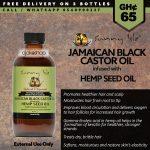 Sunny Isle Jamaican Black Castor Oil Infused with Hemp Seed Oil 4Oz