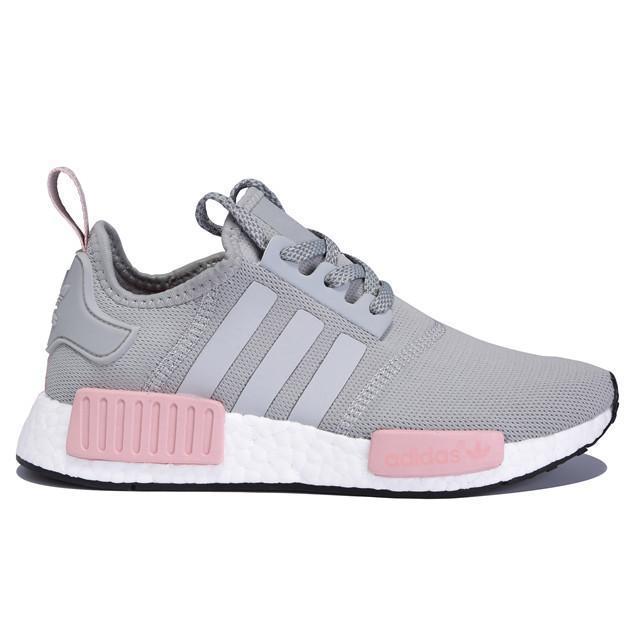 a68de6b96 ... uk authentic adidas nmd r1 grey pink white women 5e844 a00e5