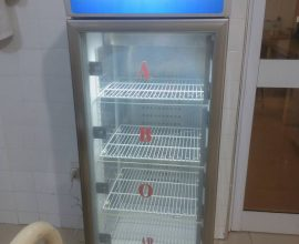 blood bank fridge