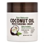 Spa Naturals Coconut Oil Moisturizing Cream