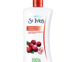 st ives intensive healing lotion