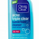Clean and clear acne triple clear cleanser
