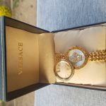 Versace Double Glass Ladies Watch